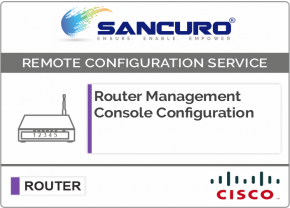 CISCO Router Management Console Configuration For Model Series C841, 880, 890, C1900