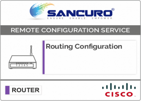 Routing Configuration in CISCO Router