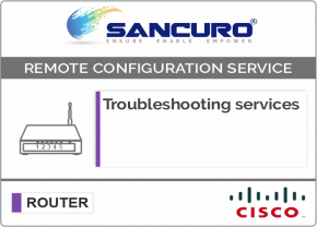 Troubleshooting services For CISCO Router