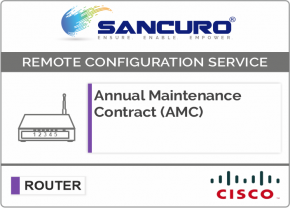 Annual Maintenance Contract (AMC) for CISCO Router