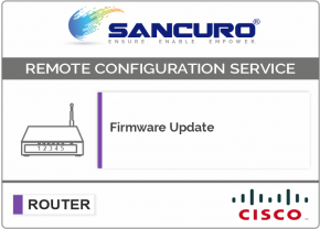 Firmware Update for CISCO Router