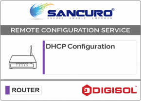 DHCP Configuration For DIGISOL Router