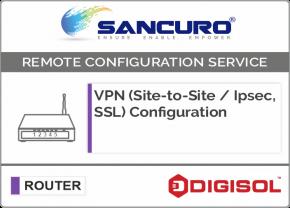 VPN (Site-to-Site / IPsec, SSL) Configuration in DIGISOL Router