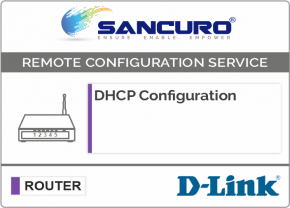 DHCP Configuration For D-LINK Router