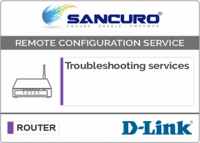 Troubleshooting services For D-LINK Router