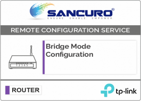 Bridge Mode Configuration For TP-Link Router