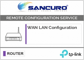 WAN LAN Configuration For TP-Link Router