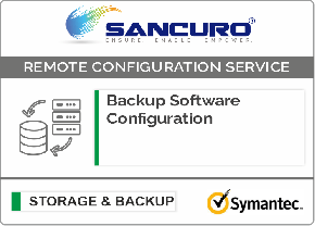Symantec Backup Software Configuration