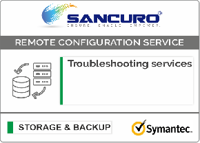 Symantec Backup Software Troubleshooting services