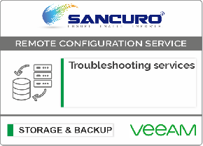 VeeAM Backup Software Troubleshooting services