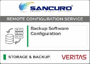 VERITAS Backup Software Configuration