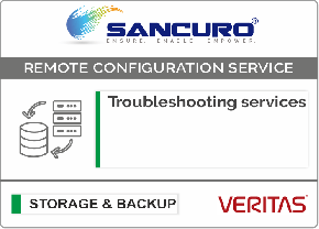 VERITAS Backup Software Troubleshooting services