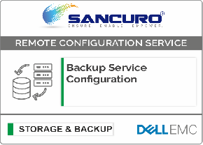 Backup Service Configuration For DELL EMC Storage For Model Series VNXe, PowerVault MD, Unity