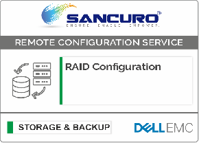 RAID Configuration For DELL EMC Storage For Model Series VNXe, PowerVault MD, Unity