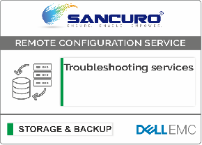 Troubleshooting services For DELL EMC Storage For Model Series VNXe, PowerVault MD, Unity