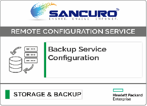 Backup Service Configuration For HPE Storage