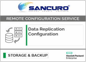 Data Replication Configuration For HPE Storage
