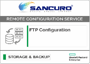 FTP Configuration For HPE Storage