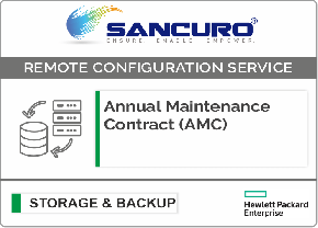 Annual Maintenance Contract (AMC) For HPE Storage