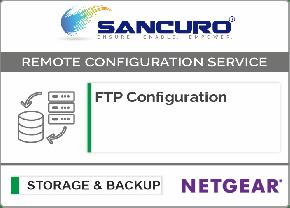 FTP Configuration For NETGEAR Storage