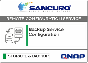 Backup Service Configuration For QNAP Storage