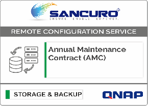 Annual Maintenance Contract (AMC) For QNAP Storage For Model SMB Series