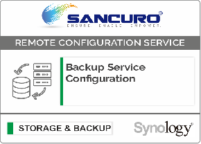 Backup Service Configuration For Synology Storage