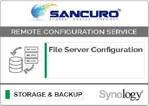 File Server Configuration For Synology Storage For Model FS & XS Series