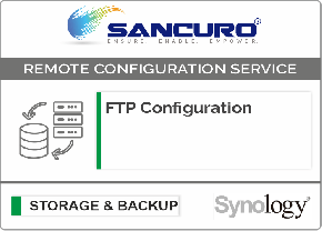 FTP Configuration For Synology Storage For Model FS & XS Series