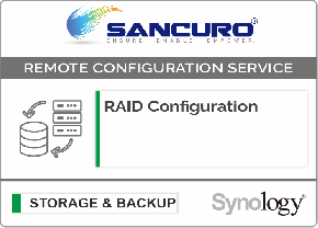 RAID Configuration For Synology Storage For Model FS & XS Series