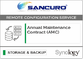Annual Maintenance Contract (AMC) For Synology Storage