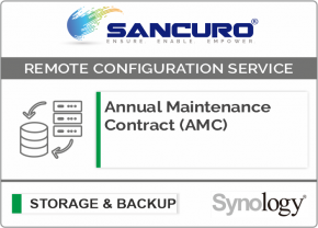 Annual Maintenance Contract (AMC) For Synology Storage For Model Value Series