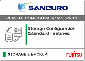 Storage Configuration (Standard Features) For FUJITSU Storage ETERNUS DX60 S4 Hybrid System