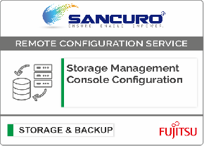 Storage Management Console Configuration For FUJITSU Storage ETERNUS DX60 S4 Hybrid System