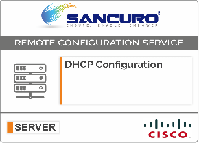 DHCP Configuration For CISCO Server