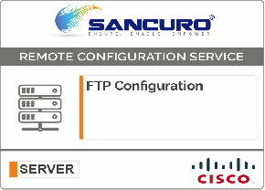 FTP Configuration For CISCO Server