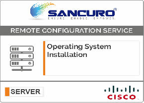 Operating System Installation on CISCO  Server