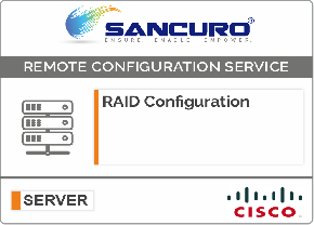 RAID Configuration For CISCO Server