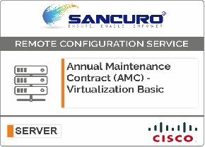 Annual Maintenance Contract (AMC) For Basic Virtualization Services for Cisco Server