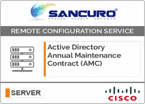 Active Directory Annual Maintenance Contract (AMC) FOR CISCO SERVER