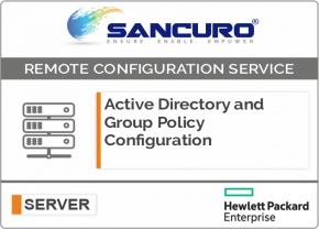 Active Directory and Group Policy Configuration For HPE Server