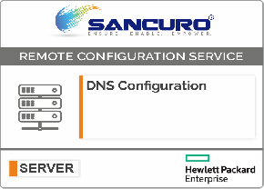DNS Configuration For HPE Server