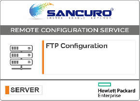 FTP Configuration For HPE Server