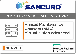 Annual Maintenance Contract (AMC) For Comprehensive Virtualization Services For HPE Server