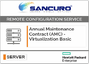 Annual Maintenance Contract (AMC) For Basic Virtualization Services for HPE Server