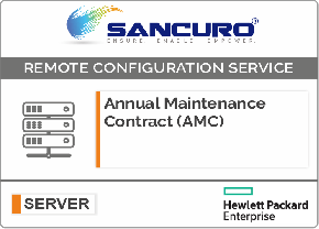 Annual Maintenance Contract (AMC) For Basic Configuration Services for HPE Server