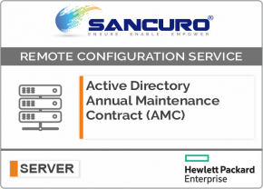 Active Directory Annual Maintenance Contract (AMC) FOR HPE SERVER