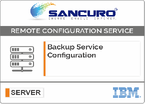 Backup Service Configuration For IBM Server