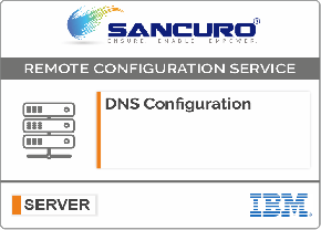 DNS Configuration For IBM Server