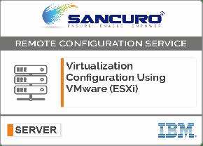 Virtualization Configuration Using VMware (ESXi) For IBM Server